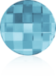 2035 CHESSBOARD Aquamarine 30 mm