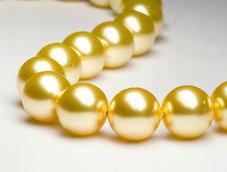 PÄRLA | Crystal Gold - 10 mm