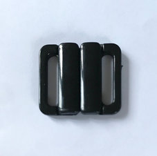 BIKINISPÄNNE - svart /fäste 1,5 cm
