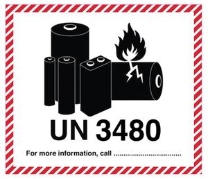 Litiumbatteri UN 3480