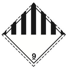 Klasse 9 - Skilt - 25 stk