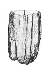 Crackle Vase Clear