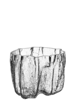 Crackle Bowl Large Clear - Kosta Boda
