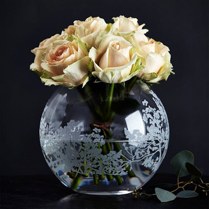 Organic Vase Globe Medium - Orrefors
