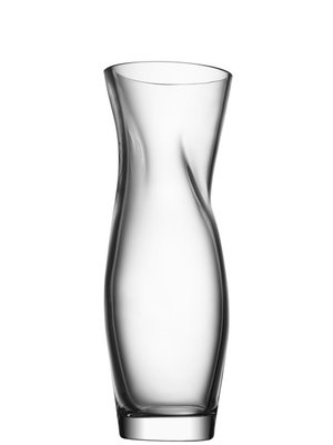 Squeeze Vase Large Clear - Orrefors