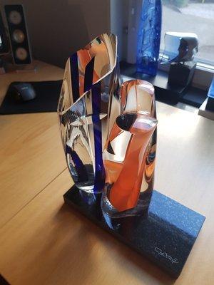 Samba Sculpture Rods - Kosta Boda Limited