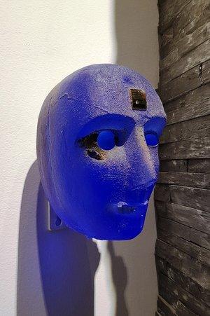 Wall Head  x 4 Unique - Kosta Boda