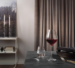 Zephyr White  Wine Glass - Orrefors