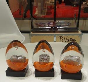 Dreamer Orange Brains Paperweight - Kosta Boda