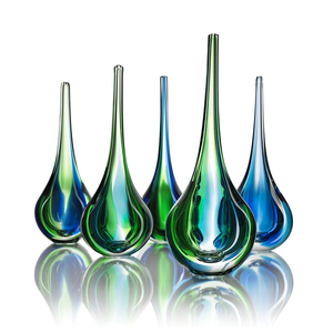 Deep Vase Green