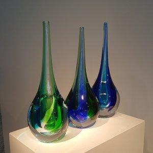 Deep Vase Aqua