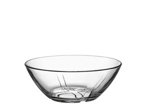 Bruk Bowl Small Clear - Kosta Boda
