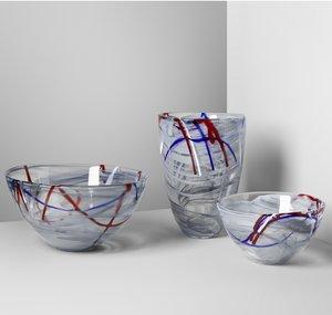 Contrast Vase Grey - Kosta Boda