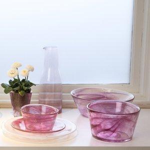 Mine Bowl Small Pink - Kosta Boda