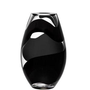 Non Stop Vase Black - Kosta Boda