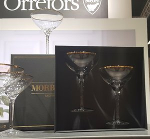 Morberg Exclusive Champagne 2-pack - Orrefors
