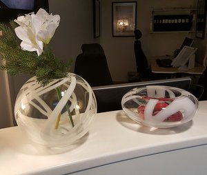 Globe Vase White - Kosta Boda