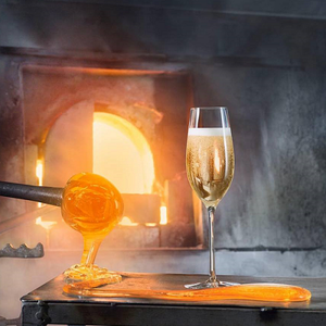 Merlot Champagne Glass - Orrefors