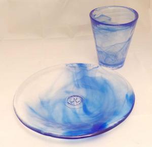 Mine Glass Blue - Kosta Boda