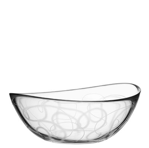 Pond Bowl Tangle Low - Orrefors