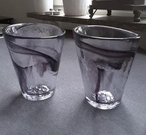 Mine Glass Black - Kosta Boda