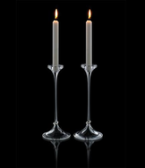 Amor Vincit Omnia Candlestick 2-pack