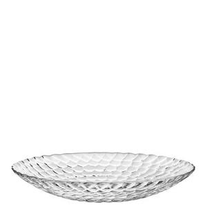 Raspberry Plate Clear - Orrefors