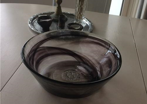 Mine Bowl Wide Black