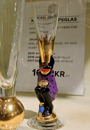 Nobel Devil Glass 2015 Purpur - Orrefors Shot