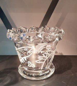 Sargasso Bowl Clear Small - Kosta Boda