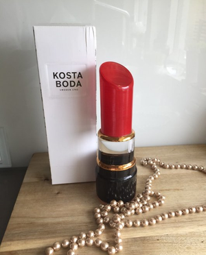 Make Up Lipstick Red - Kosta Boda