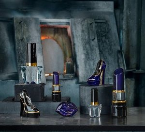 Make Up Lipstick Amethyst Blue Lilac - Kosta Boda