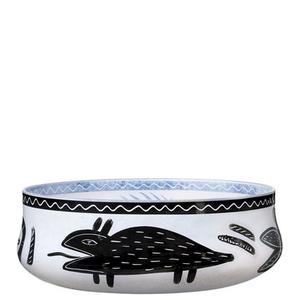 Caramba Plate White - Kosta Boda