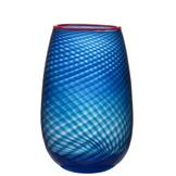 Red Rim Vase Large