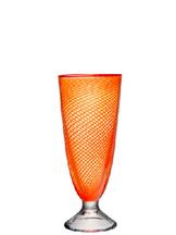 Red Rim Vase Orange