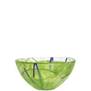 Contrast Bowl Lime Small  - Kosta Boda