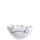Contrast Bowl White Small
