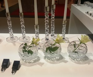 Carat Candlestick Clear High - Orrefors