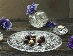 Carat Cake Plate - Orrefors