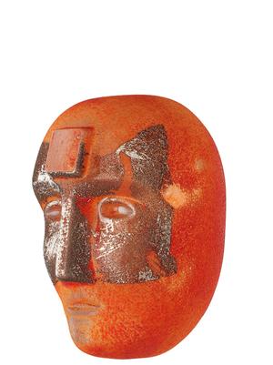 Big Brains Look In Orange Limitied- Kosta Boda