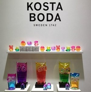 Wide Life Babies Bird Itsy - Kosta Boda