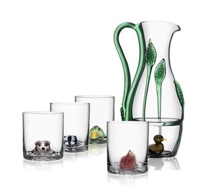 New Friends OF Duck Whiskey glass - Kosta Boda