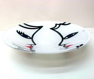 Open Minds Plate White - Kosta Boda