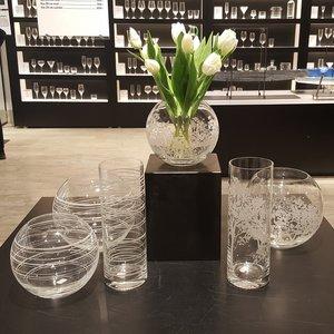 Graphic Vase Cylinder - Orrefors