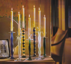 Celeste Candlestick Vit Big - Orrefors