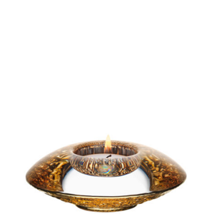 Discus Small Votive Gold 2-pack - Orrefors
