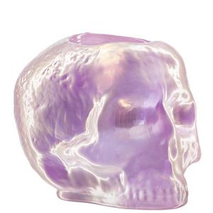 Still Life Votive Light Pink Skull - Kosta Boda