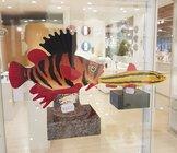 Fisk Röd Gul