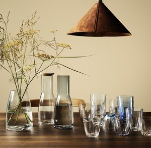 Bruk Drinking Glass Small Clear 2-pack  - Kosta Boda