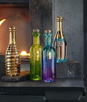 Celebrate Vin Flaska Blå - Kosta Boda